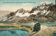 PERU LOS ANDES RAMAL DE MOROCOCHA DEL F.C.C. RAILWAYS
