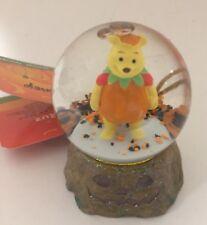Disney Halloween Winnie The Pooh Mini 45 Mm Snow Globe! Free Shipping!