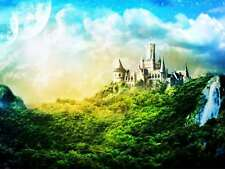 Diamond Painting Full Drill 5D DIY Forest Castle Embroidery Kit Arts Craft Decor
