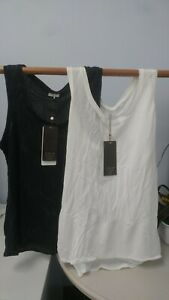 NEW CALIA by Carrie Underwood Womens Move Mesh Tank Top (Black & White Available