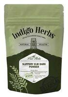 Slippery Elm Bark Powder - 50g - (Quality Assured) Indigo Herbs