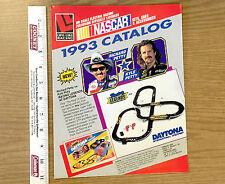1993 LIFE-LIKE Racing 6pg HO Slot Car & Accessory Catalog Unused Petty NASCAR A+