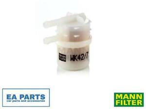 Fuel filter for MITSUBISHI MANN-FILTER WK 42/7