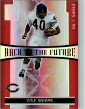 2006 Donruss Elite Back to the Future Red #4 Gale Sayers Thomas Jones /250