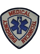 Emergency Medical Technician EMT Patch