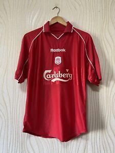 LIVERPOOL 2000 2001 HOME FOOTBALL SHIRT SOCCER JERSEY REEBOK