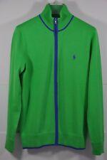 NWT Women's Ralph Lauren Golf, Cotton-Blend FULL-ZIP SWEATER. Size M $145