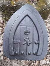 Dragonfly fairy door mold  abs plastic  garden casting mystical mould