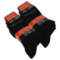 5/10/20 Paire Pierre Cardin Chaussettes Business Chaussettes Coton Noir