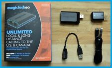 Hot Free App MagicJack GO VoIP Adapter with 12 Months of Service NEW version