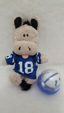INDIANAPOLIS COLTS NFL Football  Beanbag Mascot in Peyton Manning Jersey #18