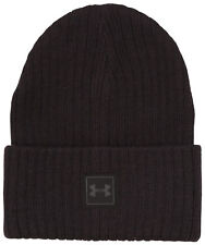 6f38757dbe2 Under Armour Men s ColdGear Truck Stop Beanie Knit Hat Cuffed With Tags