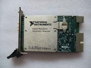 National Instruments NI PXI-6542 100 MHz Digital Waveform Generator/Analyzer