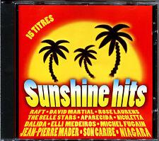 SUNSHINE HITS - 15 TITRES 80'S ET SOLEIL - CD COMPILATION [2165]