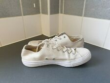 CREAM LEATHER CONVERSE ALL STAR SIZE UK 8