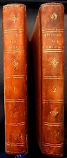 IN QUARTO .  ROBERTSON  W. HISTOIRE DE L'AMERIQUE; 2 VOLS. IN 4° PARIS 1778