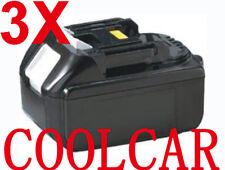 3 X Batteries For Makita 18V 3.0Ah Li-ion BGA452Z BJR182Z BTL061Z BDF451 BHR241