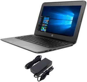 HP Stream 11-Pro G2 Laptop Intel Celeron-N3050 2GB 32GB Win-10 Webcam WIFI HDMI