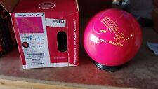 New 15lb 900 Global Pink Fury XBLEM Bowling Ball X021