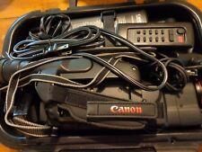Canon E210/E230 Video Camera Camcorder Canovision lot Manual Case remote etc