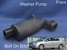 Front Windscreen Washer Pump Toyota Avensis Saloon 2003 to 2008 'T25' T3 Spirit
