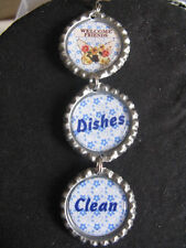 """""""Welcome Friends"""" Country Blue Dishwasher Clean/Dirty Ornament ~ **Gift Idea"""