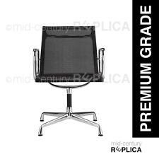 PREMIUM EAMES REPLICA ALUMINIUM OFFICE CHAIR - MESH - BLACK RRP $725**