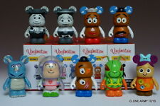 """COMPLETE SET MR. POTATO HEAD VARIANT CHASER VINYLMATION 3"""" TOY STORY SERIES 2"""