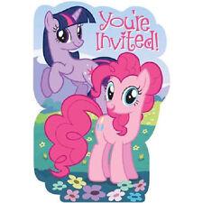 My Little Pony Friendship Party Invites 8 Invitations & Envelopes