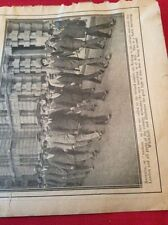 m12l ephemera 1914 picture ww1 london whitehall recruits join up