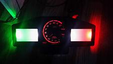 """ITALIAN FLAG"" APRILIA TUONO 02-04  led dash clock conversion kit lightenUPgrade"