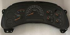 2005 Chevy Silverado Sierra Diesel Gauge Cluster Speedometer M/T Manual 15135674