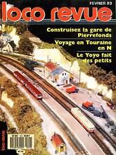 LOCO REVUE 512 DE 1989. TEST : CONSTRUISEZ LA GARE DE PIERREFONDS