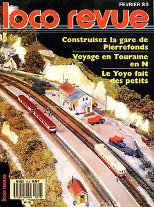 Loco Review 512 Of 1989. Test : Build The Station Of Pierrefonds