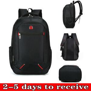 Large Backpack Mens Boys Rucksack Fishing Sports Travel Hiking School Bag SV