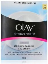 Olay Natural White 7 in 1 Glowing Fairness Day Skin Cream SPF 24 50gm