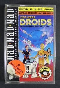 1988 Spectrum & Amstrad STAR WARS DROIDS ADVENTURES Vintage VIDEOGAME