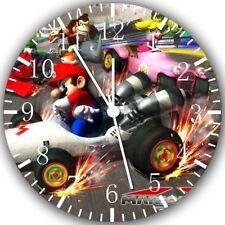 Super Mario Kart Frameless Borderless Wall Clock Nice For Gifts or Decor Z91