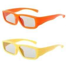 Children Size Circular Polarized Passive 3D Glasses For Real D 3D TV Cinema