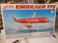 Tamiya 1/100 plastic model kit FDA Embraer 175 airliner