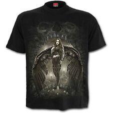 Spiral Dark Angel T-shirt Black XXL