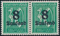 DR 1923, MiNr. 278 V, tadellos postfrisch, gepr. Infla, Mi. 170,-