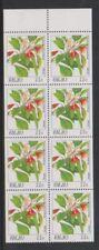 Palau - 1987, 22c Denges, Flowers Booklet Pane - MNH - SG 178
