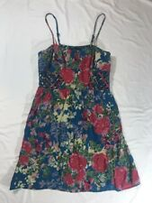 Angie Women's Multicolor Sleeveless Floral Dress Size Large