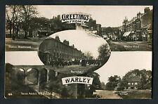 C1910 Multiviews Warley: Shop Fronts, Warley Road, Barracks & Military Band
