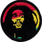 Bob Marley Rastafarian Embroidered Patch