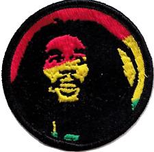 Bob Marley Rastafari Gestickte Abzeichen
