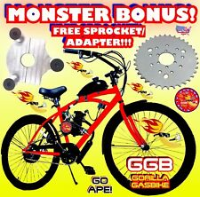 66cc/80cc 2-Stroke Motorized Bike Kit And 26� Cruiser Bike Diy Motorized Bonus