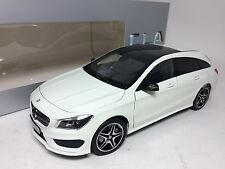 1/18 Norev Mercedes-Benz CLA Shooting Brake White Dealer Version