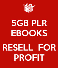 HandpickedCollection of 50000+ ebooks Plr Rights Package + Free Bonuses 4.5 Gb+